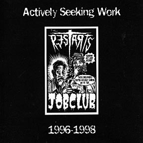 the Restarts, Actively Seeking Work 1996-1998 - CD
